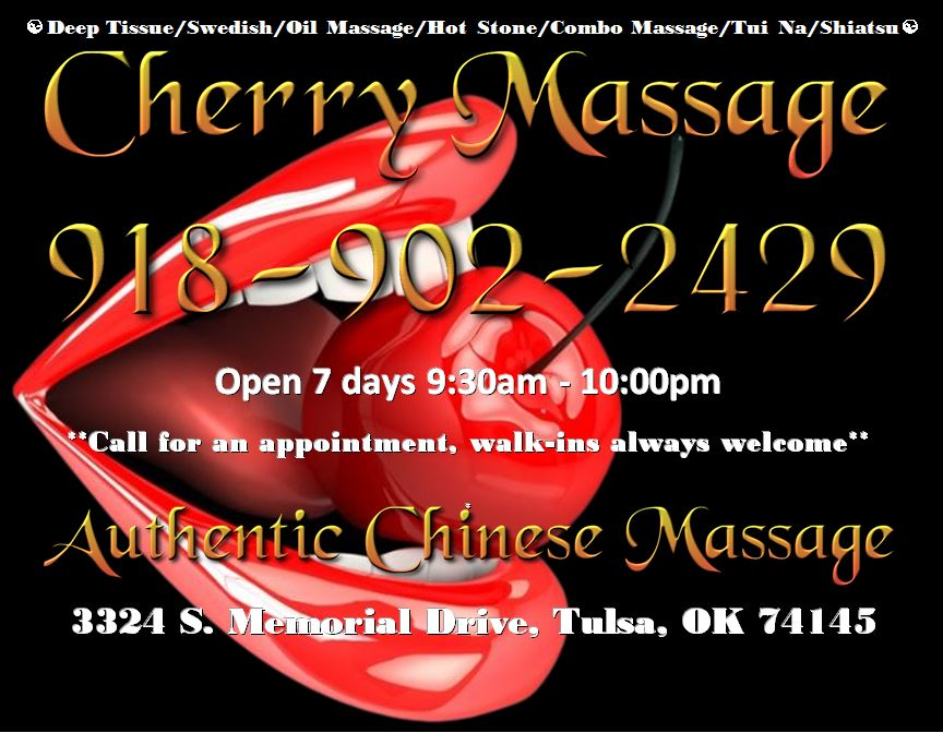 Cherry Massage and Day Spa Logo