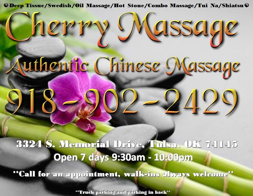 relaxation at Cherry Massage and Day Spa