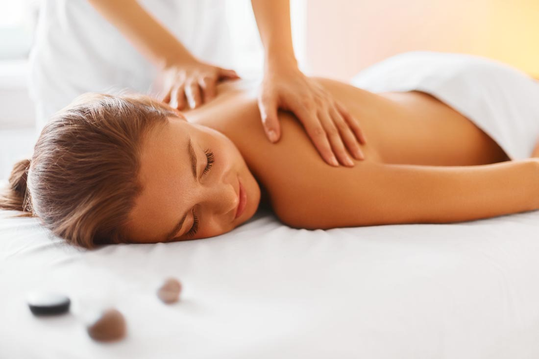 relaxing massage for ladies