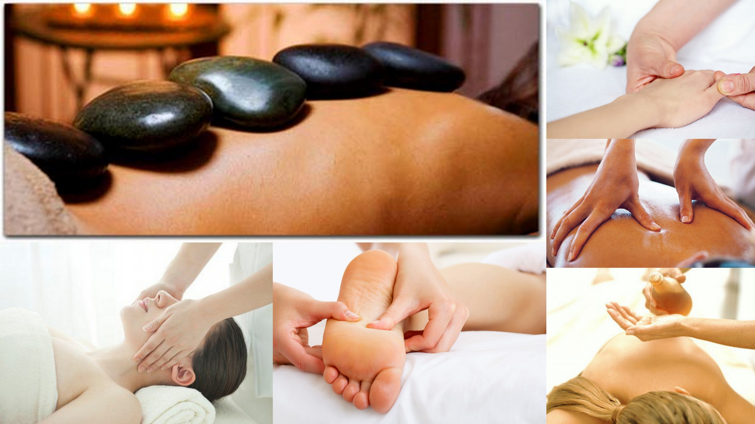 Massage types at Cherry Massage and Day Spa, Chinese deep tissue massage, Shiatsu, Swedish